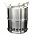 SilverFire Scout Stove with Cooking Pot